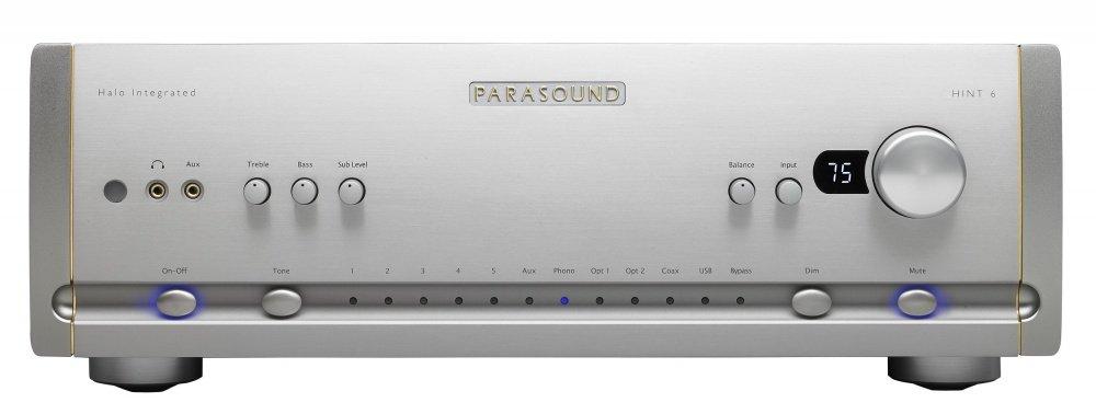Parasound Halo HINT6 2.1 sztereó erősítő ezüst színben - Octogon Audio 33d0d799e1