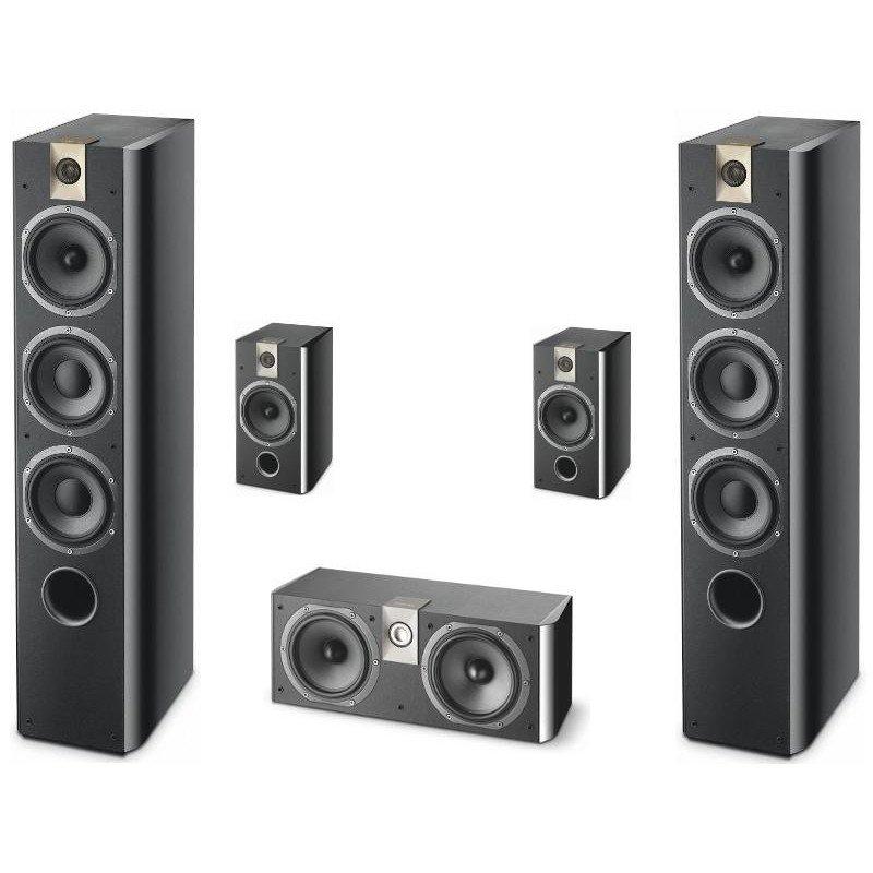 focal chorus 726 706 cc700 black style hangfalszett octogon audio. Black Bedroom Furniture Sets. Home Design Ideas